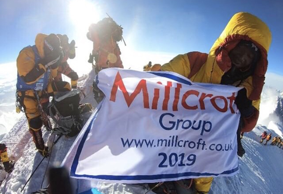 Millcroft Takes Working at Height to Extremes with Everest Sponsorship